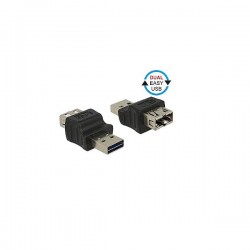 DELOCK USB Adaptor Type-A Male to Type-A Female 65640